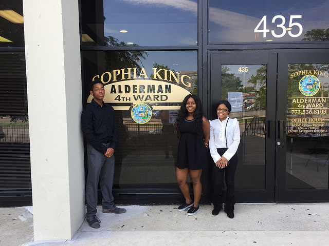 Aldermanic Summer Internship Program for 2017.