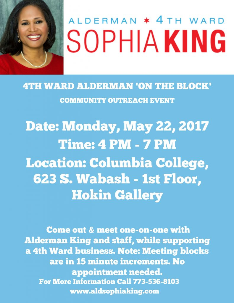 Alderman On the Block 2017 May 22 2017