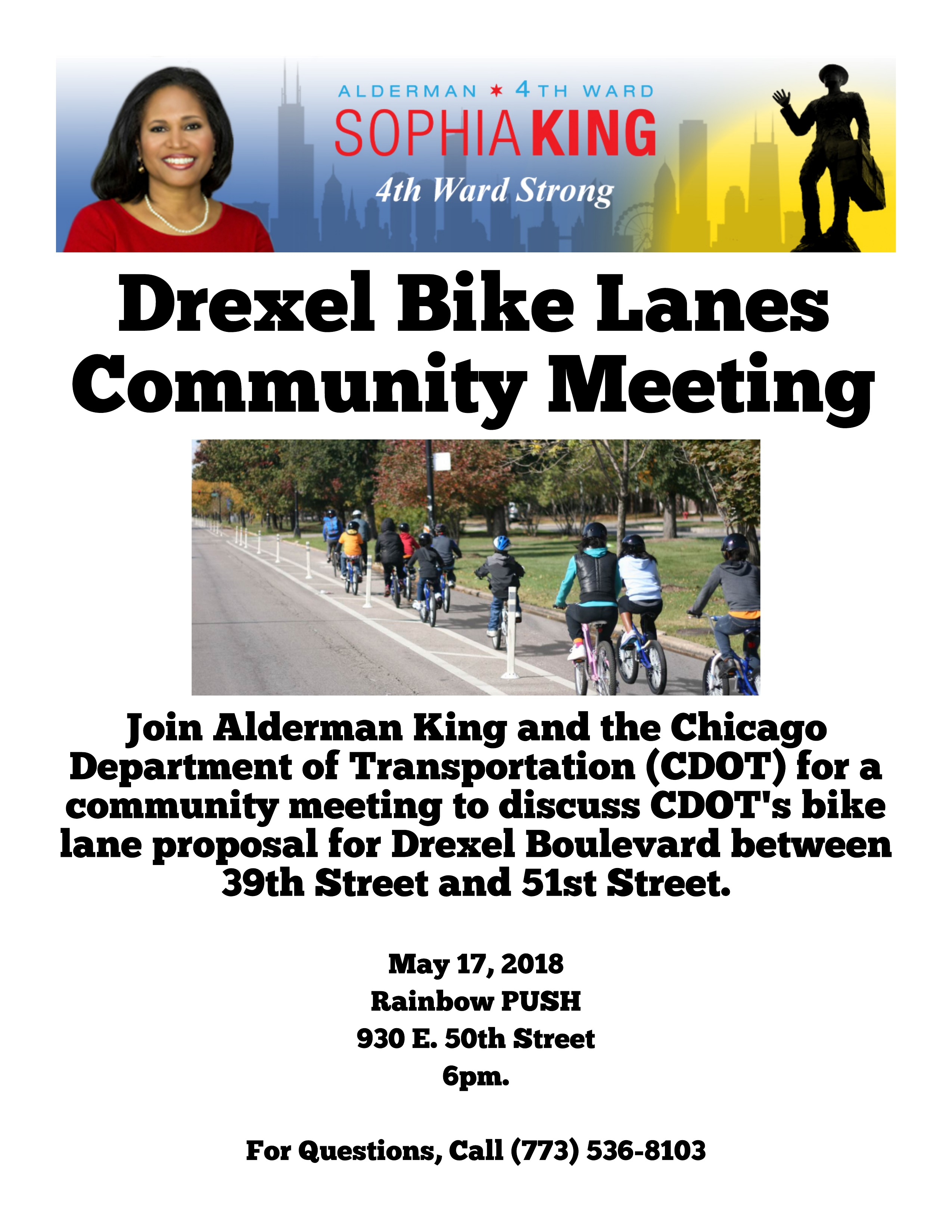 Drexel Bike Lane Meeting