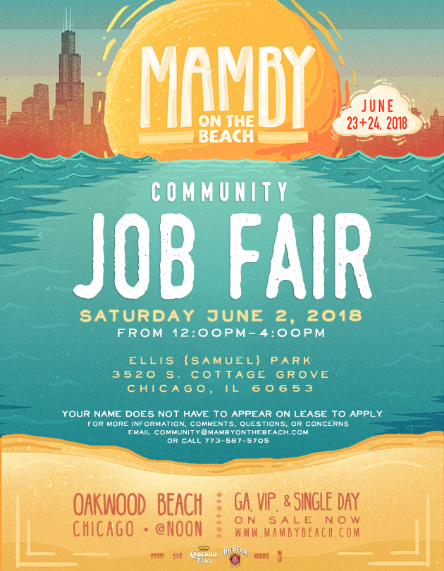 Mamby Job Fair 2018