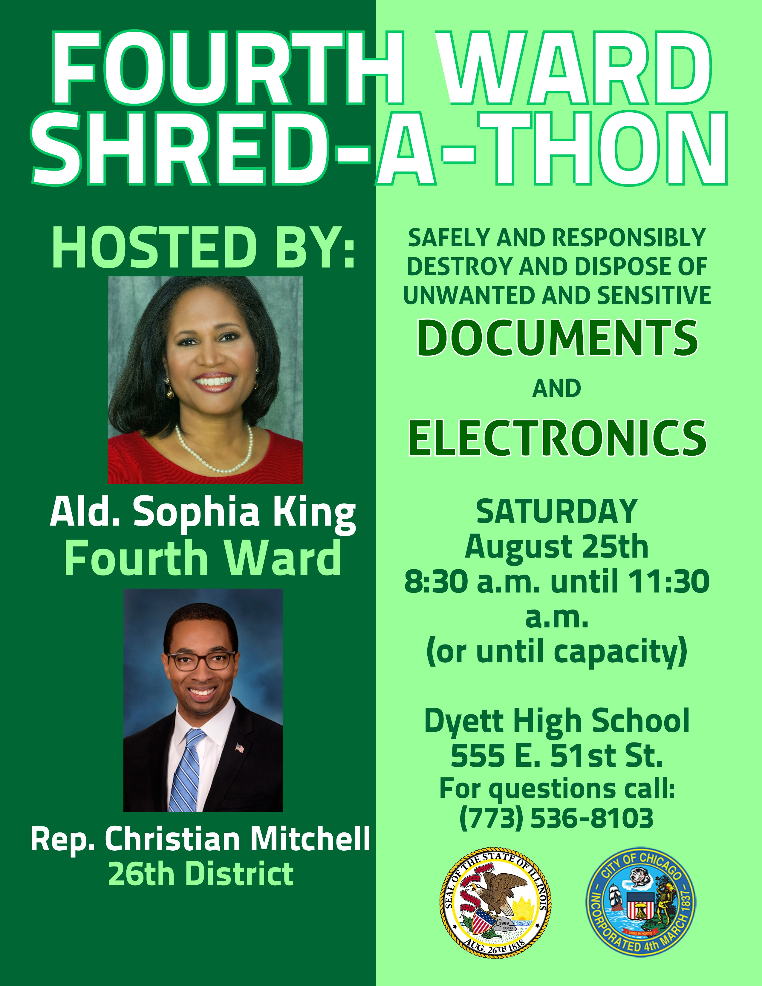 Shred a Thon Flyer -August 25 (1)