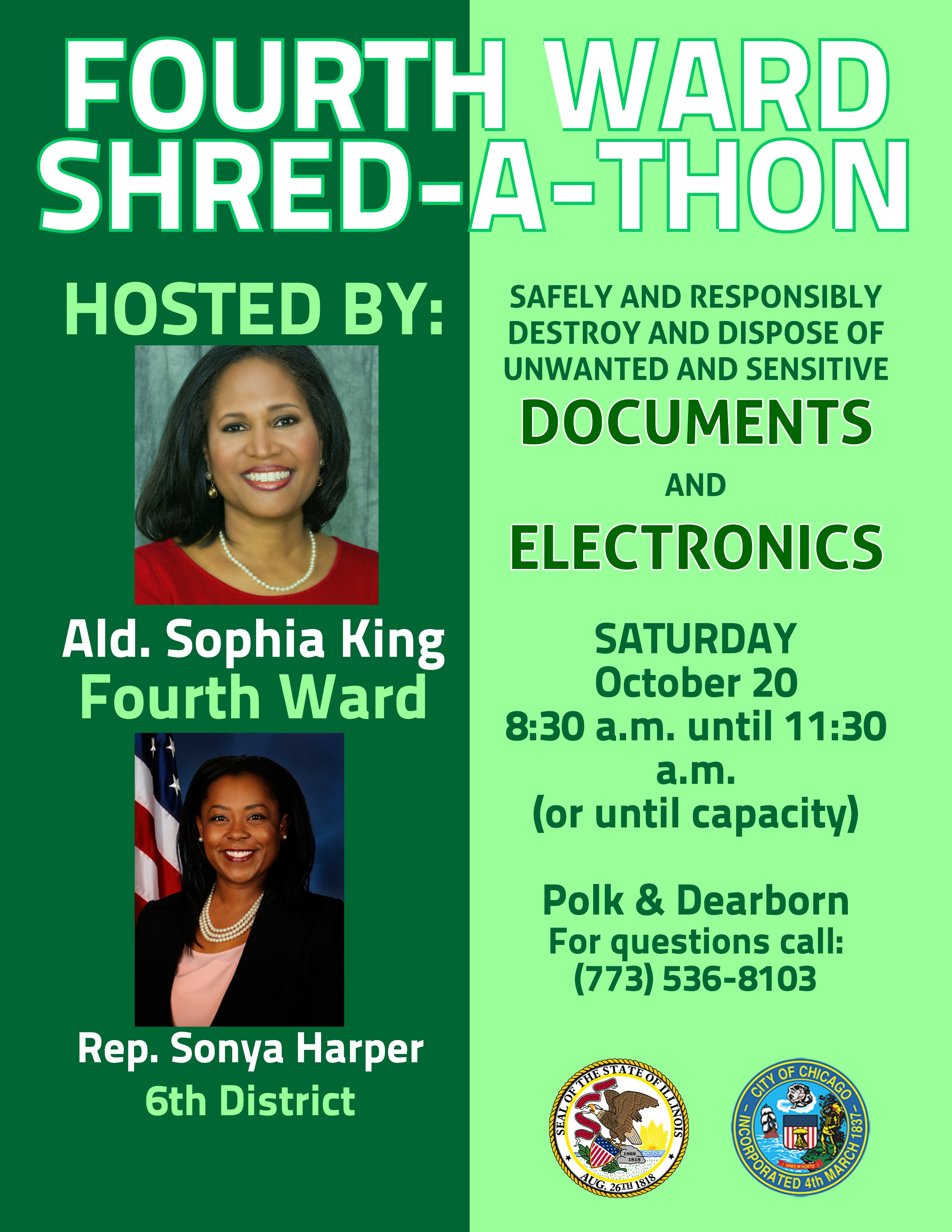 Shred a Thon Flyer -August 25 (2)