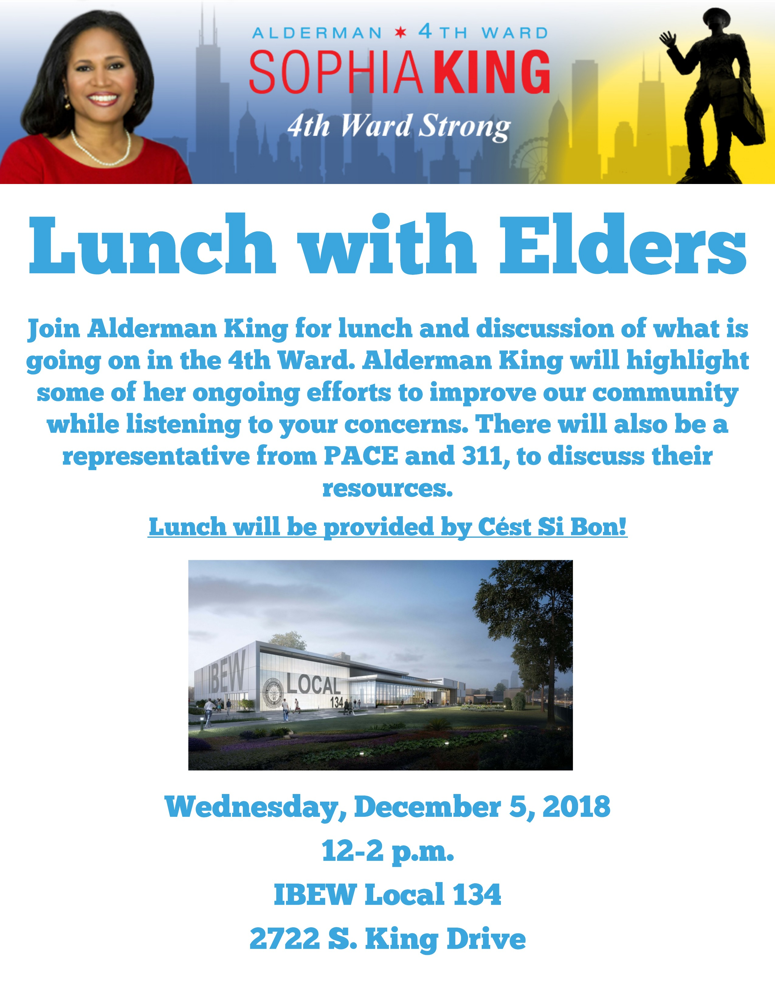 Lunch with Alderman King