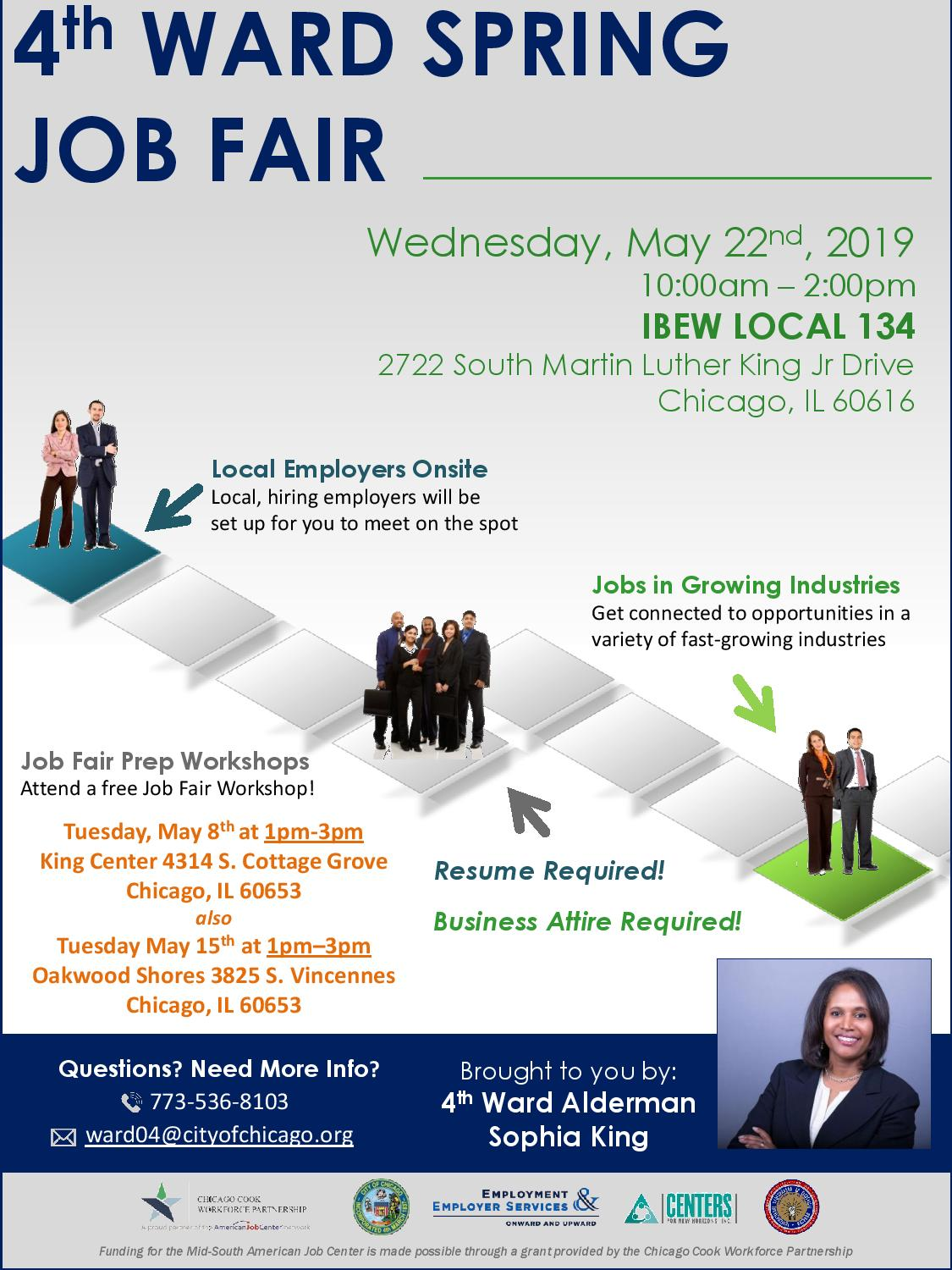 2019 Flyer - 4th Ward Job Fair - 5.2019-page-001