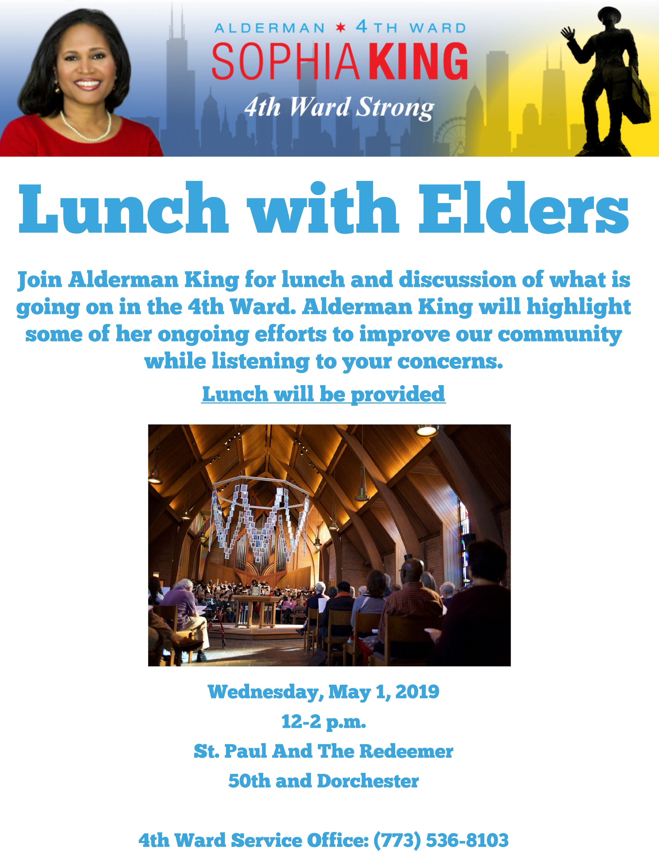 Lunch with Alderman King 5.1.19 (1)